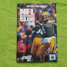 N64 - NFL Quarterback Club 98 Spielanleitung Manual Booklet Nintendo
