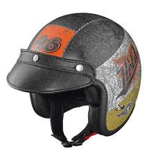 HELD Black Bob Jethelm Motorradhelm crushed matt Gr. L = 59/60 mit Sonnenblende