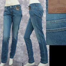 GUCCI New sz 40 - 4 Womens Authentic Designer Leggings Pants Jeans Blue