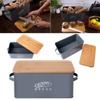 "Vintage Kitchen Space Saving Storage Box Bread Box 12.0"" x 6.70"" x 5.70"""