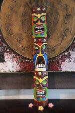 NEW Balinese Hand Crafted Tiki Bar / Polynesian TIKI MASK / TOTEM