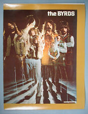 1970 The Byrds School Book Cover Psychedelic Color Group Photo Clarence White