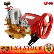 High Pressure Triplex Plunger Pump Agricultural Motor Sprayer Pump Th-60 Usa