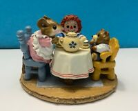 Wee Forest Folk | M-177 Tea For Three Easter | Limited from 1991 NEW IN BOX