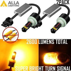Alla Lighting LED 3156NA CANBUS Turn Signal Light Bulb,No Hyper/Fast Flashing