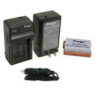 Battery + Charger Combo Kit For Canon LP-E8 EOS Rebel 550D 600D T2i T3i Kiss X4