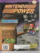 #82  NINTENDO POWER video game magazine SUPER MARIO RPG