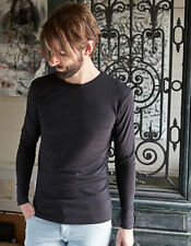 Cotton Long Sleeve Fitted Big & Tall T-Shirts for Men