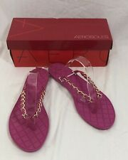 Aerosoles Womens Isabella Open Toe Casual, Pink, Size 11
