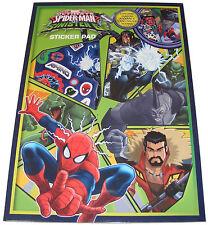Infantil/Infantil/Spiderman niño / Spider-Man libro de pegatinas Pad + 30