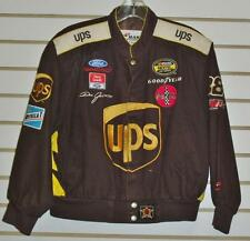 Dale Jarrett Coat sz youth XXL 2XL twill #88 UPS kids jacket AUTOGRAPHED
