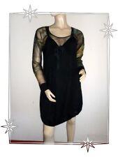 Magnifique Robe  Fantaisie Noire Comme Une Femme Taille 44