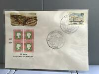 Germany Helgoland 1967 100 year postal anniversary   stamp cover R29332