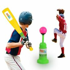 Funny Baseball Toys Set Children Outdoor Sports Training Automatic Launcher