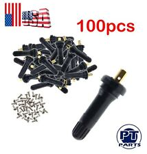 100X TPMS Tire Pressure Sensor Rubber Valve Stems For GMC Cadillac Chevy GM-930A