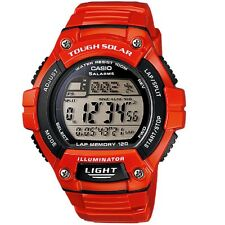 Casio W-S220C-4A Red Solar Power Digital Watch WS220C-4A with Box Included