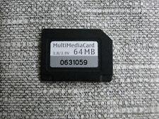64MB MMC MULTI MEDIA MEMORY CARD 64 MB fits NOKIA 6630 N70 N90 MultiMediaCard