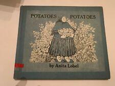 1967 Potatoes Potatoes by Anita Lobel Harper & Row Hardcover