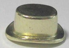 Hasbro Monopoly Gold Target TOP HAT gold tone token pewter charm miniature.