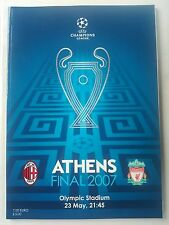 2007 UEFA Champions League Final AC MILAN V Liverpool Comme neuf CONDITION