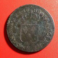 #1577 - RARE - Louis XVI Sol 1788 K Bordeaux - FACTURE