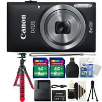 Canon IXUS 185 / ELPH 180 20MP Digital Camera Black and Accessories
