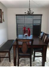 Beautiful dinning table with bench