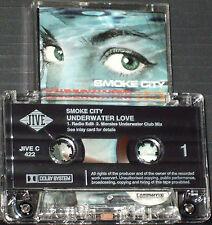 Smoke City Underwater Love CASSETTE SINGLE 2 TRACK JIVE C422 House Levi ad
