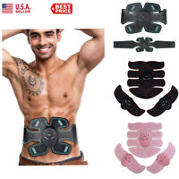 Rechargeable ABS Simulator EMS Training With Belt Abdominal Muscle Exerciser