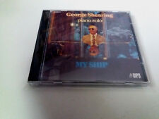 "GEORGE SHEARING ""MY SHIP"" CD 12 TRACKS COMO NUEVO PIANO SOLO"