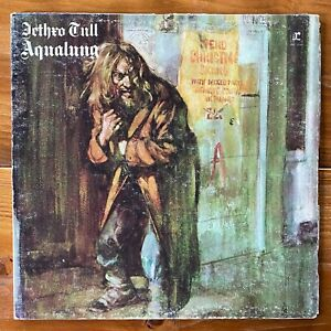 Jethro Tull – Aqualung – Progressive Rock Vinyl LP w/Insert – OG w/Insert