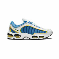 Nike Men's Air Max Tailwind 4 IV White Blue Yellow Running Shoes CD0456-100 NEW