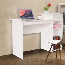 Computer Desk Writing Table Study Workstation Home Office w/ Drawer Furniture Us