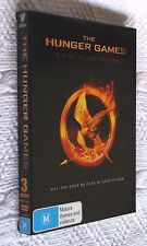 THE HUNGER GAME (DVD, 3-DISC DELUXE EDITION) R-4, LIKE NEW, FREE POST AUS-WIDE
