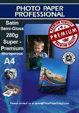 A4 Satin Photo Paper Pearl Premium 280g x 10 Sheets