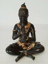 🔅 statuette, figurine en bronze joueur de flûte krishna ?