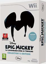 Epic Mickey Coll.Ed. WII - totalmente in italiano