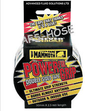 Everbuild Mammoth POWERGRIP Double Sided Tape Powerful High Grip Bond Clear UK