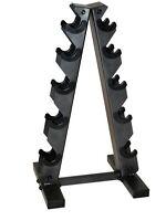 CAP Barbell Black A Frame Dumbbell Rack, Two Tier Design Rack, Holds Dumbbells