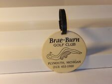 Vintage Brae - Burn Golf Bag Tag Plymouth Michigan