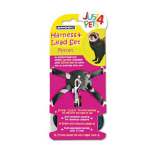 Ancol Just 4 Pets Ferret Harness and Lead Set X2