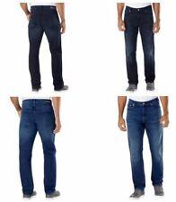 NEW Men's Calvin Klein Jeans Straight Leg Fit Blue Stretch Sits at waist