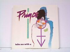 "PRINCE ""TAKE ME WITH U""  PICTURE SLEEVE ONLY  MINT ALL THE WAY"