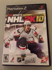NHL 2K10 (Sony PlayStation 2, 2009) Ps2