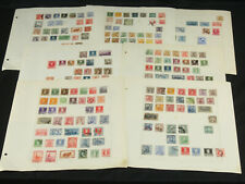 Old Time Argentina Stamp Collection Lot on Pages w/Many Early