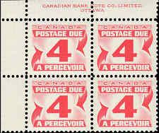 Scott # J24 - 1967 - ' Postage Due '; 20 x 17mm (Upper Left)