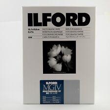 ILFORD Darkroom Paper Multigrade IV RC 250 Sheets 5x7 Pearl MG4RC44M – BRAND NEW