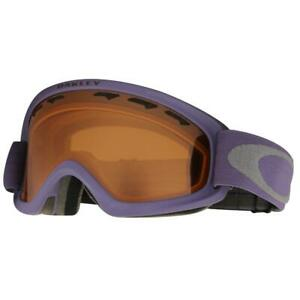 Oakley OO 7048-05 O2 XS Purple Shade w/ Persimmon Lens Youth Snow Ski Goggles .