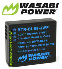 Wasabi Power Battery for Panasonic DMW-BLE9, DMW-BLG10 & Panasonic Lumix DMC-GF3