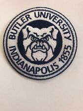 """Butler University Vintage Embroidered Iron On Patch 3"""" x 3"""""""